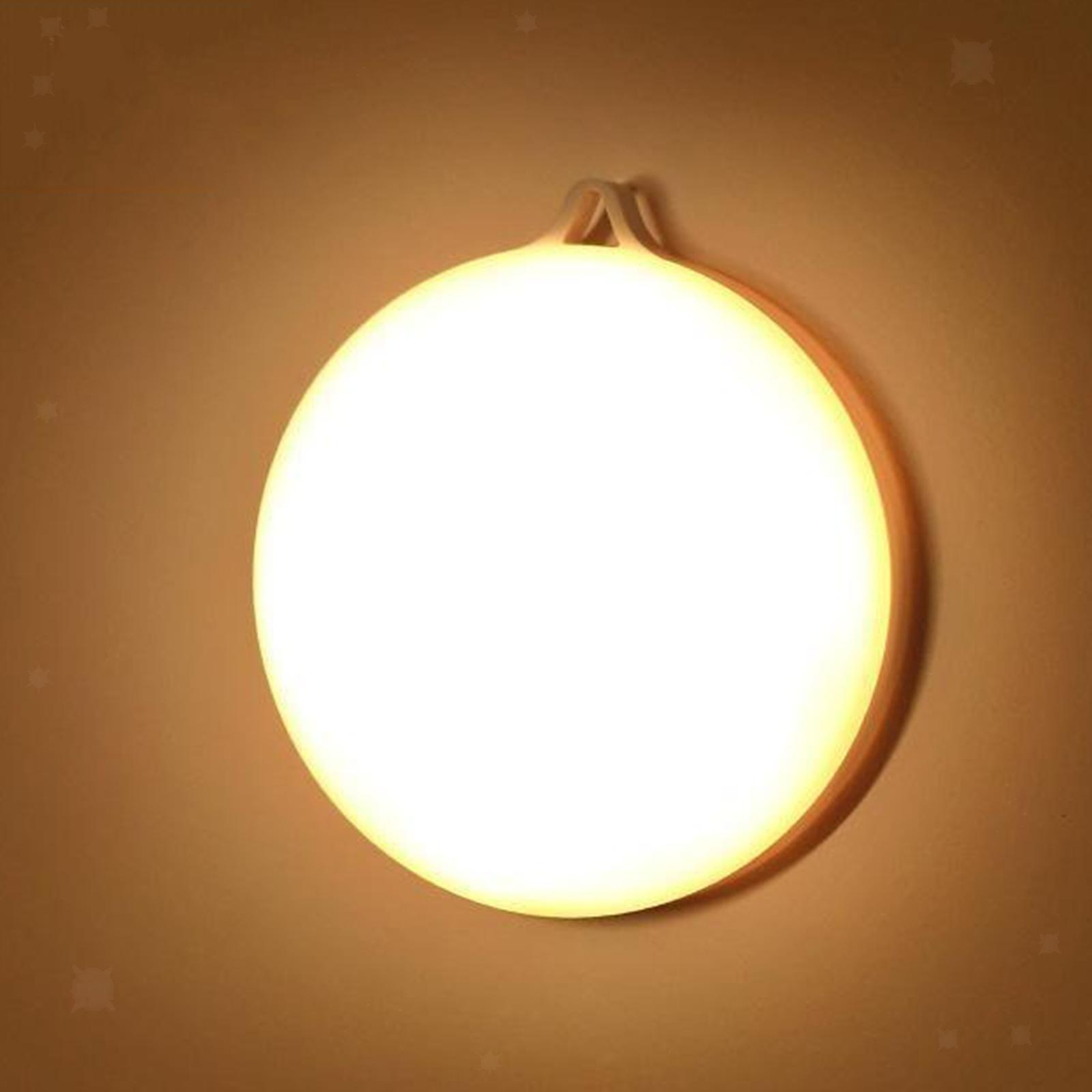 miniatura 9 - Luce notturna a LED per camera da letto ricaricabile USB per Hotel con sensore