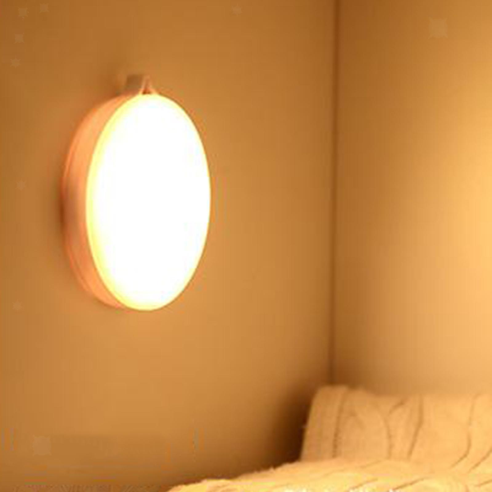 miniatura 7 - Luce notturna a LED per camera da letto ricaricabile USB per Hotel con sensore