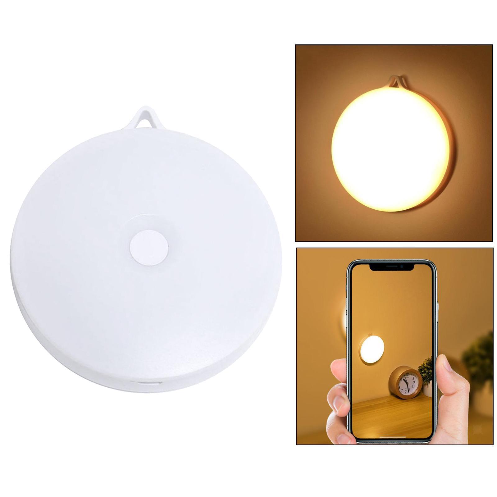 miniatura 11 - Luce notturna a LED per camera da letto ricaricabile USB per Hotel con sensore