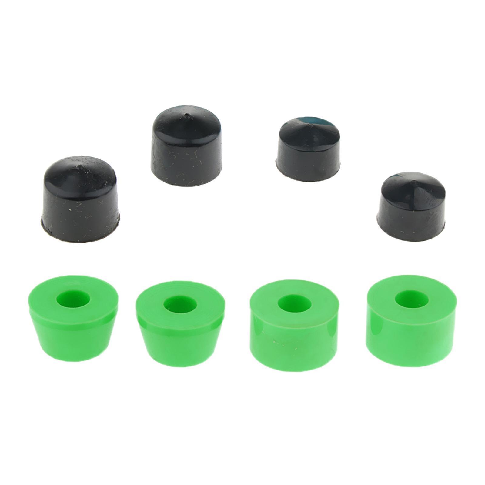 10-pezzi-di-boccole-per-skateboard-longboard-coniche-e-cilindro-con-set-di-tazze miniatura 4