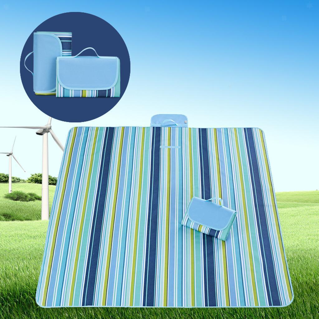 miniatura 5 - Pieghevole Coperta di Campeggio Esterna Spiaggia Festival Fondo in Materiale