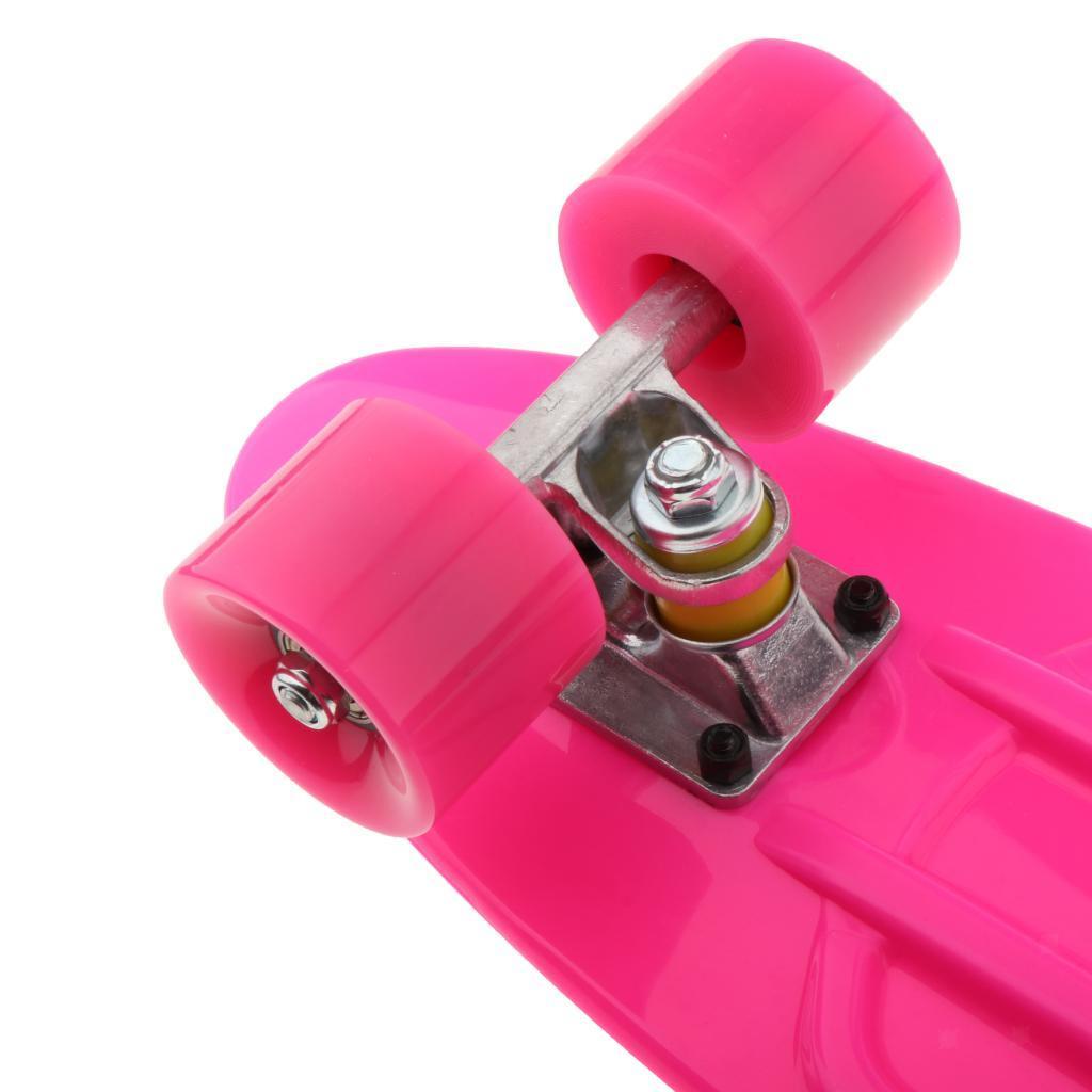 22-034-Cruiser-Skateboard-Longboard-Retro-Skateboard-per-bambini-Extreme-Sport miniatura 7