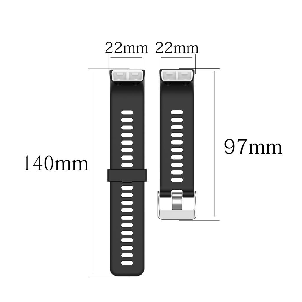 Unisex-Samrt-Watch-Strap-Bracelet-Silicone-Rubber-Band-for-Garmin-Forerunner thumbnail 24
