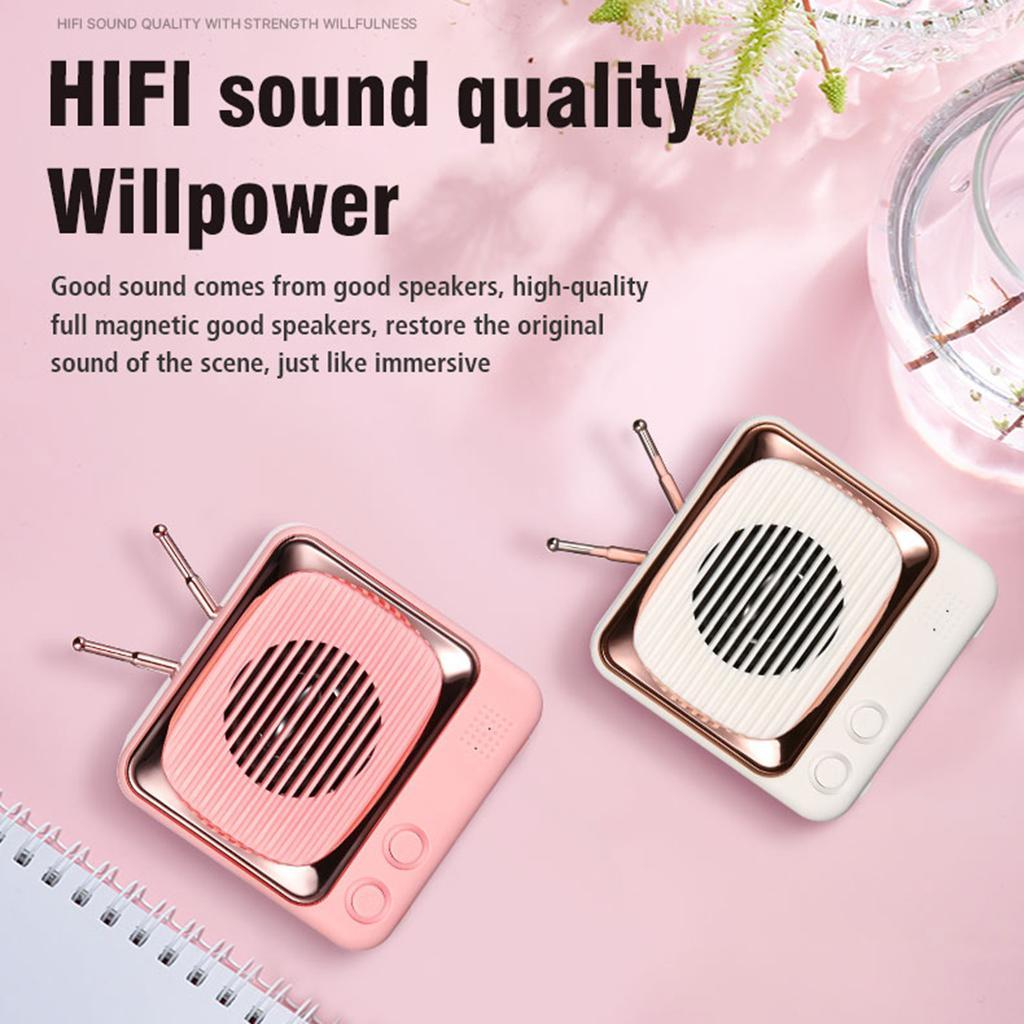 Retro-FM-Radio-Vintage-Bluetooth-Speaker-900mAh-Battery-Capacity-with-Best-Sound thumbnail 9
