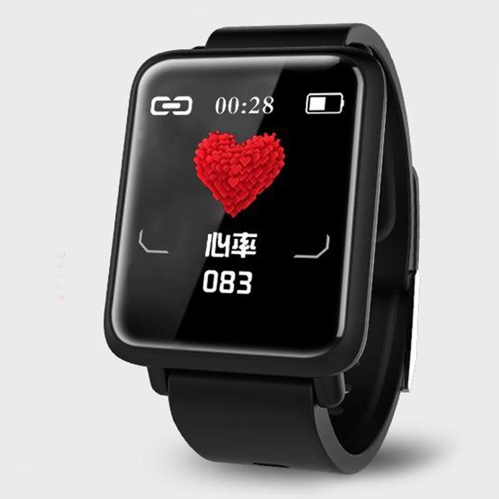 Bluetooth 5.0 Heart Rate Monitor di Pressione Sanguigna..