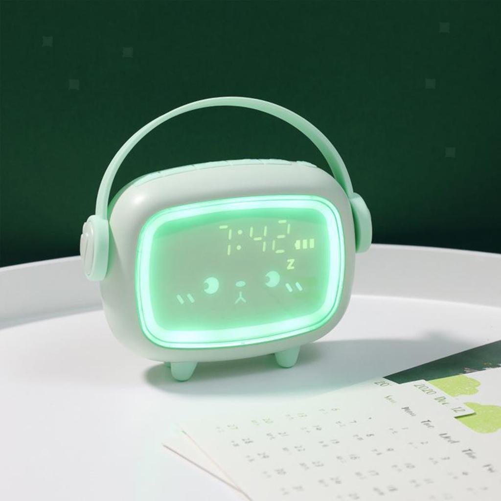 Indexbild 6 - LED Digital Kinder Wecker mit Nachtlicht für Mädchen Jungen Schlafzimmer Ok zu