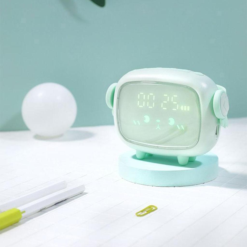 Indexbild 7 - LED Digital Kinder Wecker mit Nachtlicht für Mädchen Jungen Schlafzimmer Ok zu