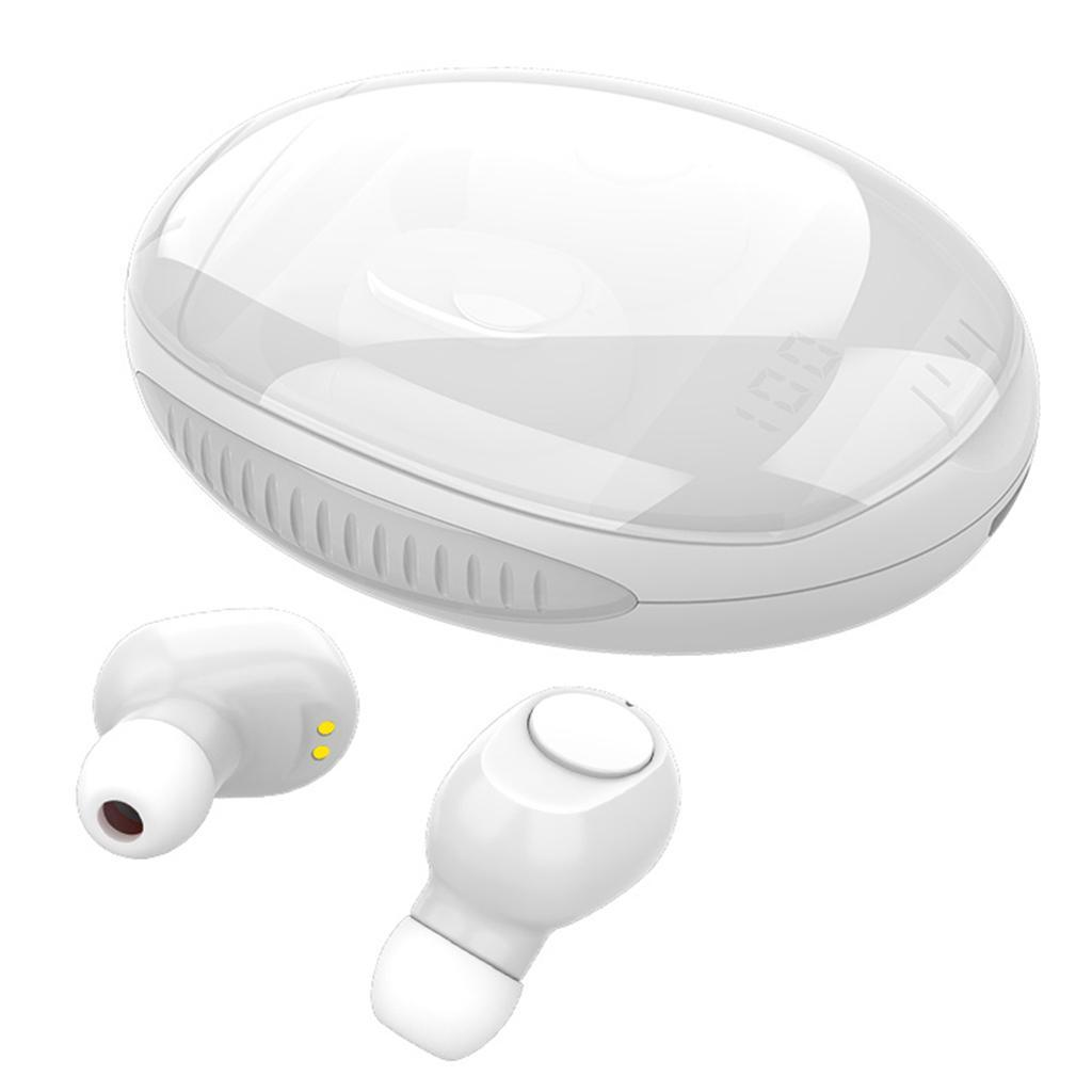 Bluetooth-5-0-Auricolari-Auricolari-Senza-Fili-TWS-Cuffie-in-Ear-w-Caso-di miniatura 26
