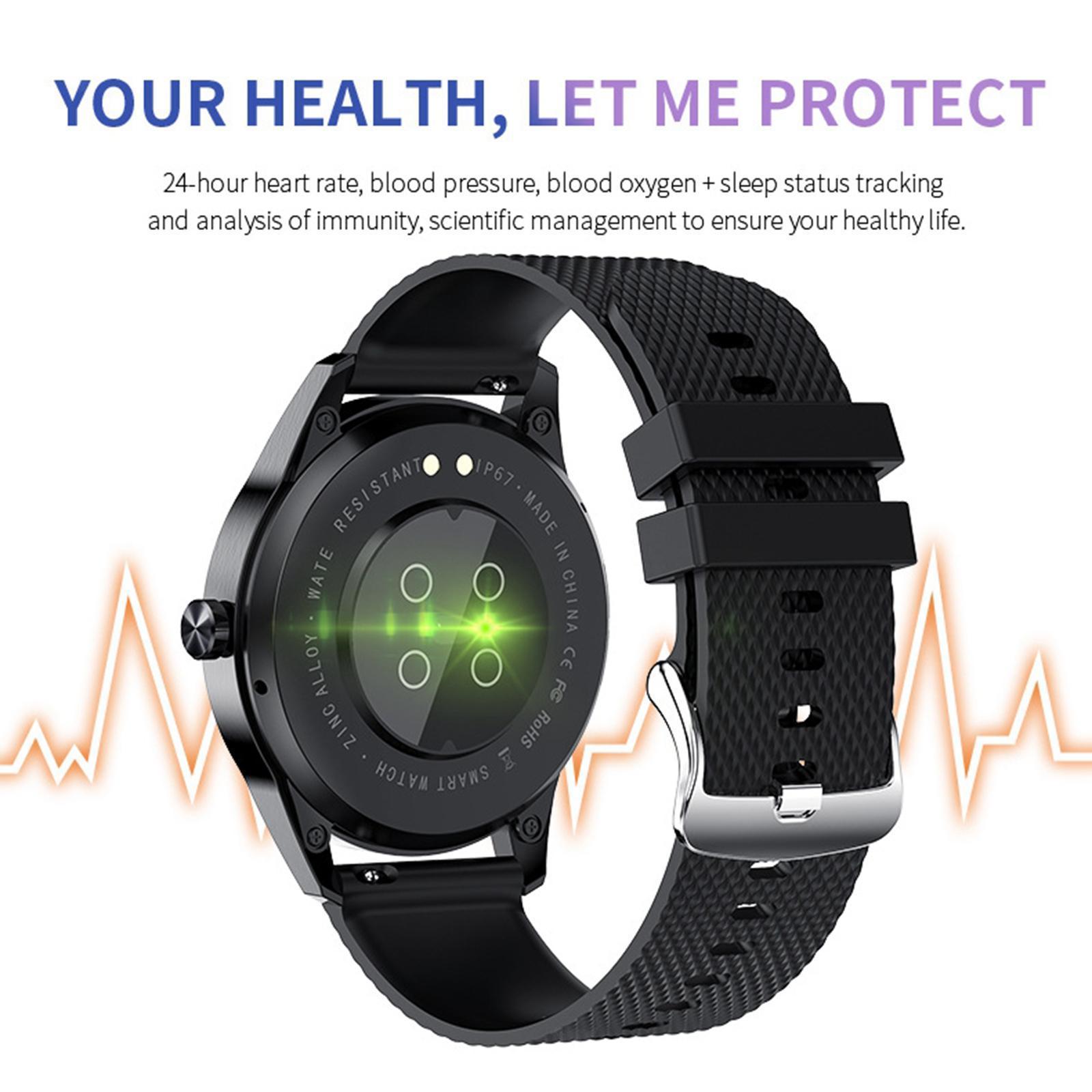 miniature 11 - D'affaires Sport Montre Intelligente Fitness Tracker Calorie Counter pour