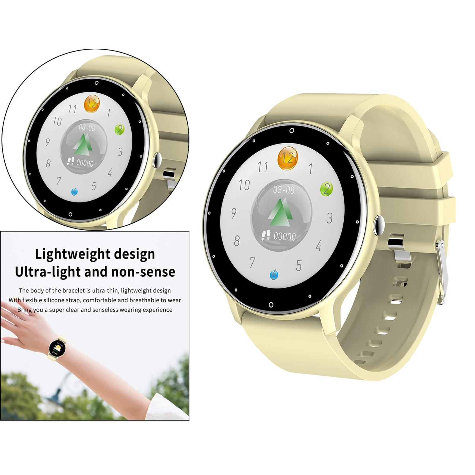 miniature 32 - Étanche Femmes Montre Intelligente Bracelet Sport Fitness Tracker Mode