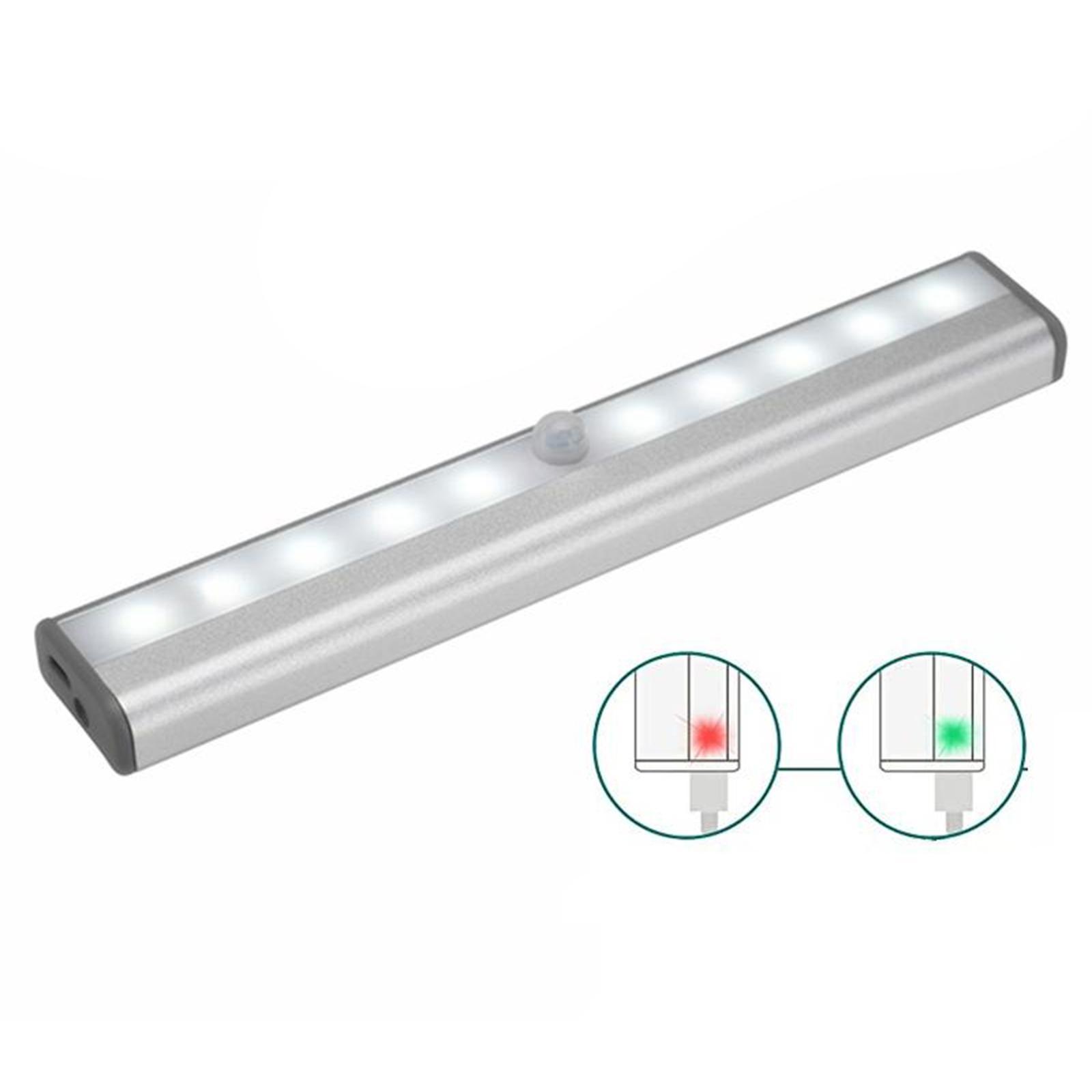 miniatura 24 - Lampada da parete a LED con sensore di movimento camera da letto armadio armadio