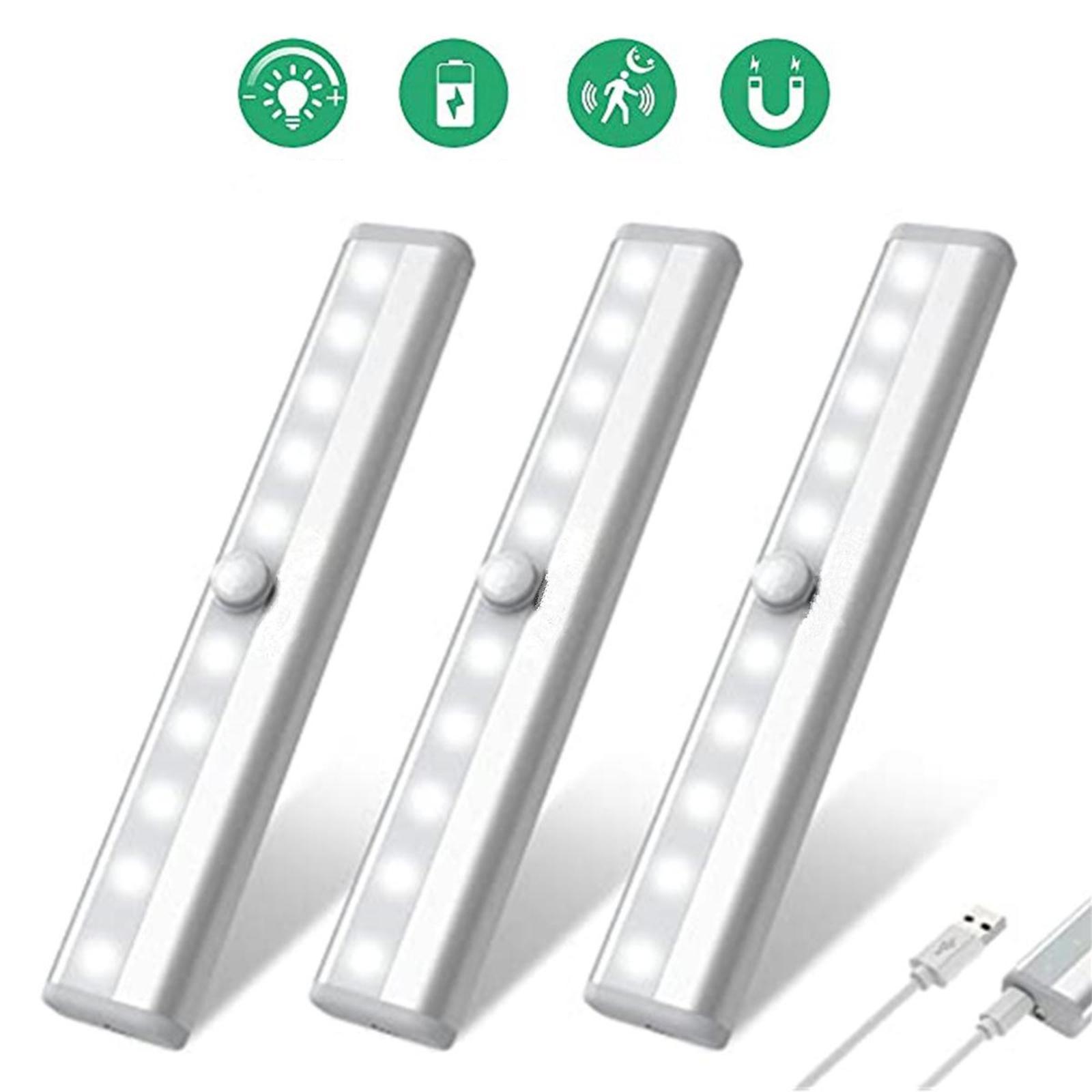 miniatura 20 - Lampada da parete a LED con sensore di movimento camera da letto armadio armadio