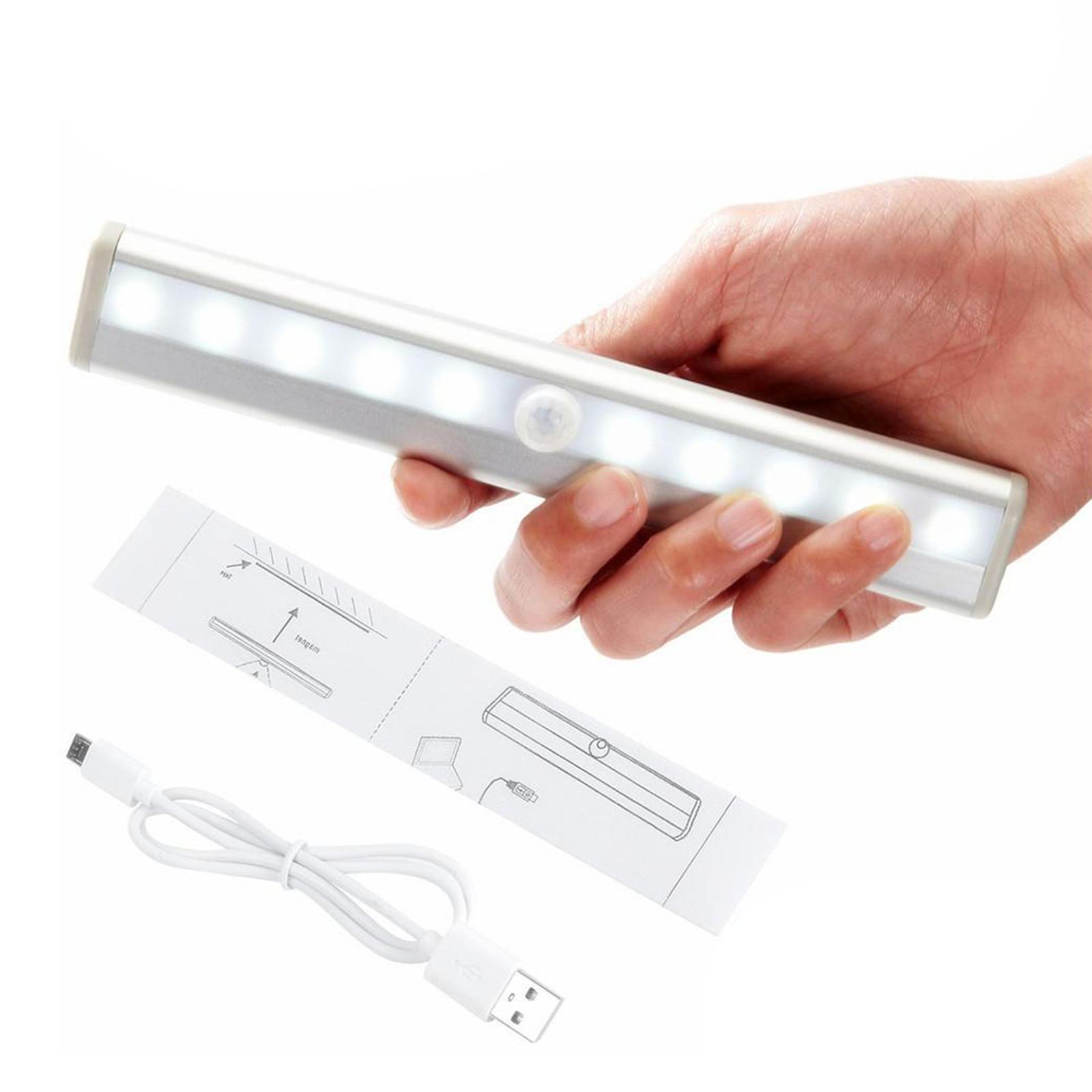 miniatura 23 - Lampada da parete a LED con sensore di movimento camera da letto armadio armadio