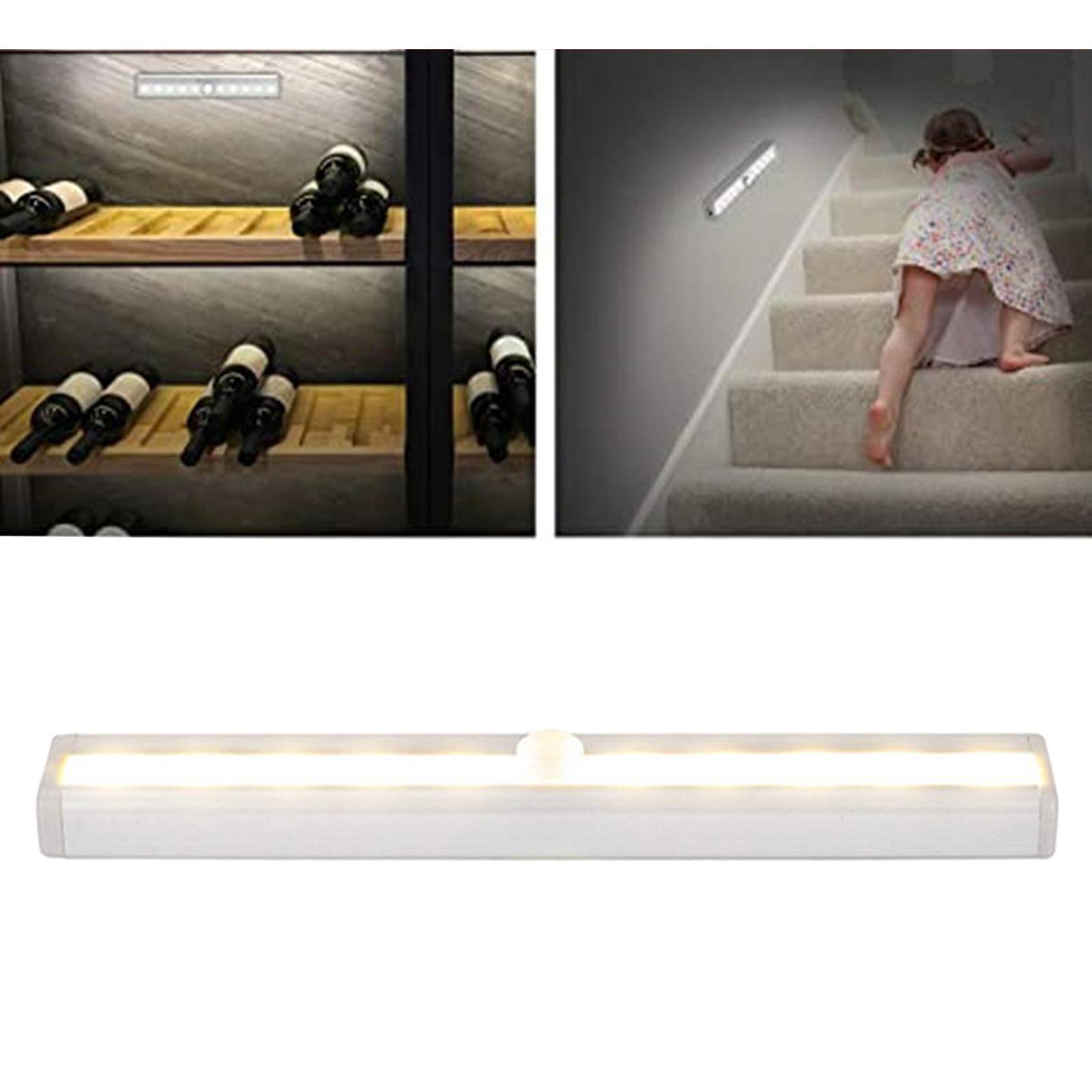 miniatura 19 - Lampada da parete a LED con sensore di movimento camera da letto armadio armadio