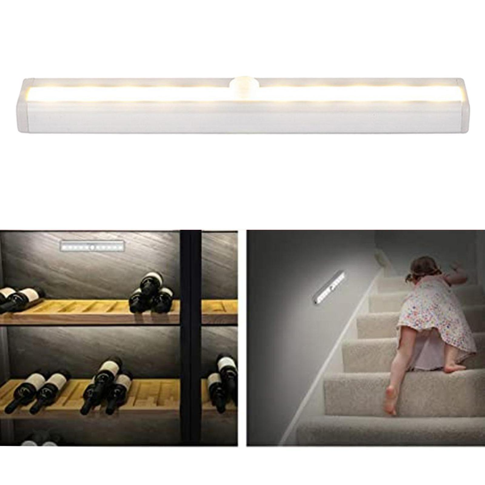 miniatura 22 - Lampada da parete a LED con sensore di movimento camera da letto armadio armadio