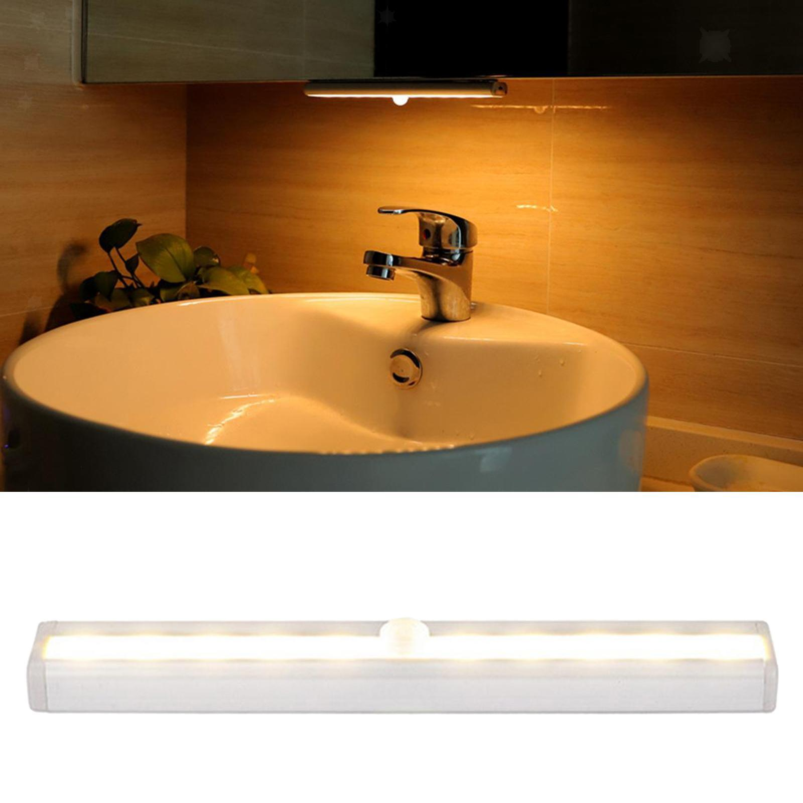 miniatura 26 - Lampada da parete a LED con sensore di movimento camera da letto armadio armadio