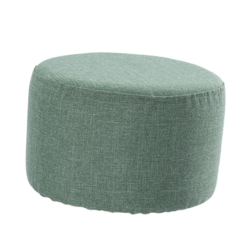 miniatura 3 - Cuscino-Pad-per-Sgabello-da-Bar-Fodera-Coprisedia-Rotonda-in-Tela-di-Cotone