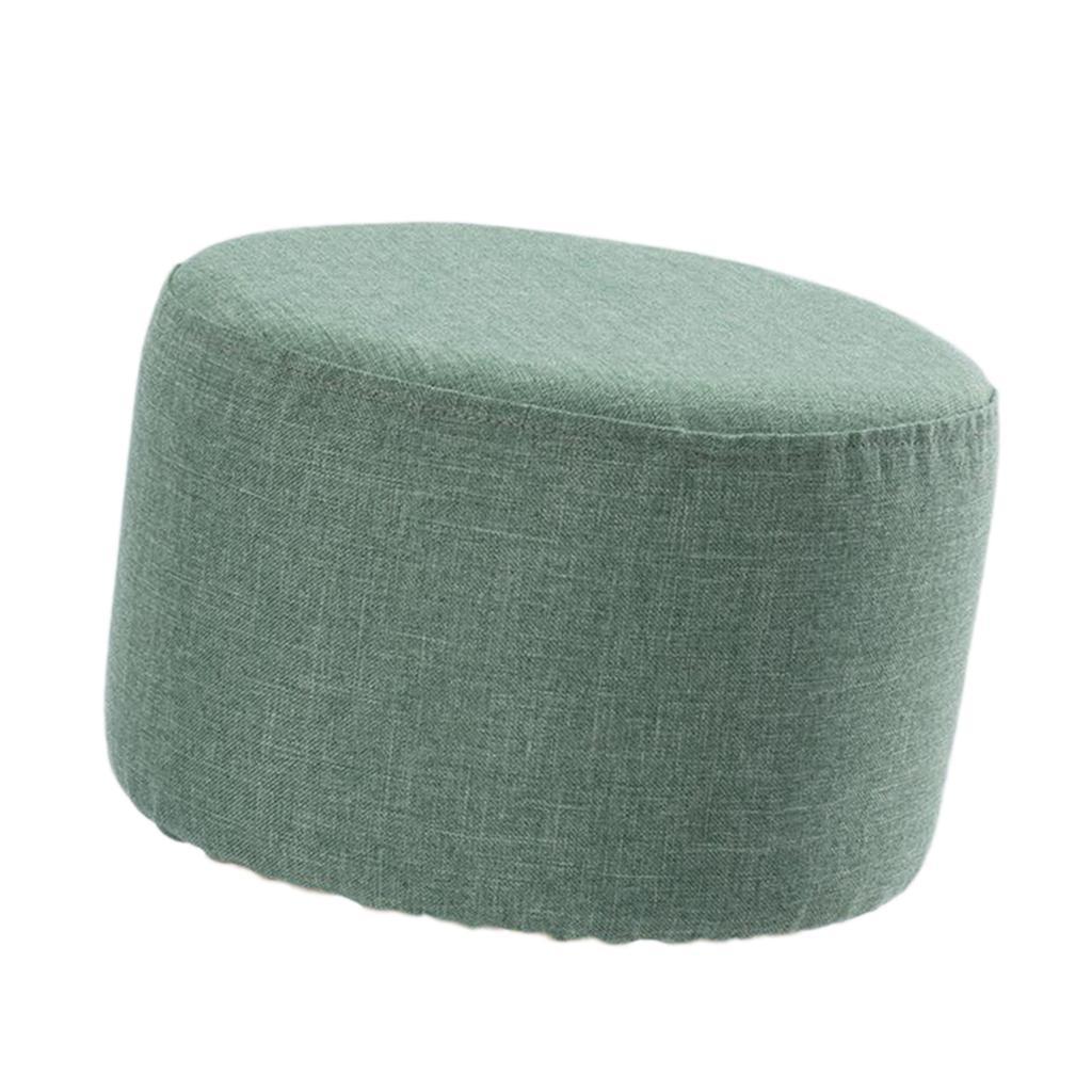 miniatura 4 - Cuscino-Pad-per-Sgabello-da-Bar-Fodera-Coprisedia-Rotonda-in-Tela-di-Cotone
