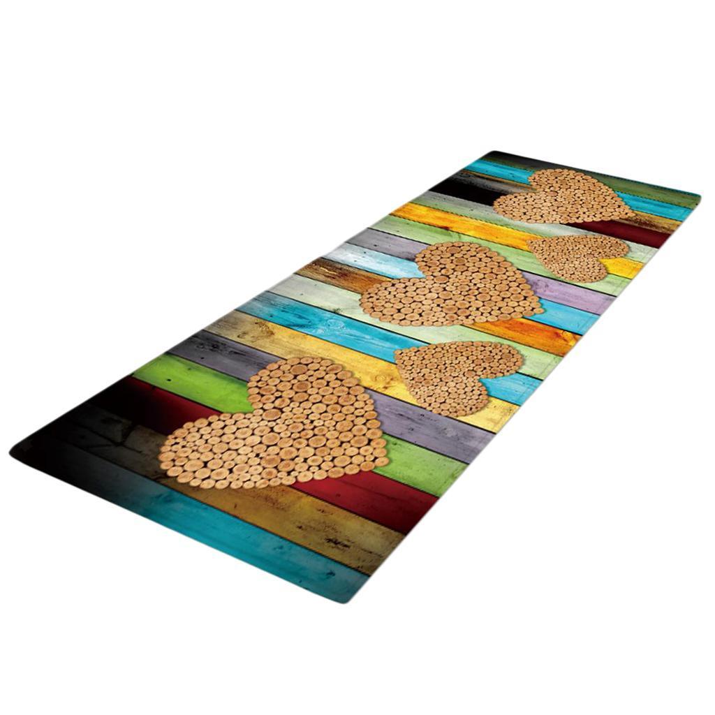 Tappetino-In-Flanella-Morbida-Antiscivolo-60x180-Cm-40x120-cm-Decorazione miniatura 3