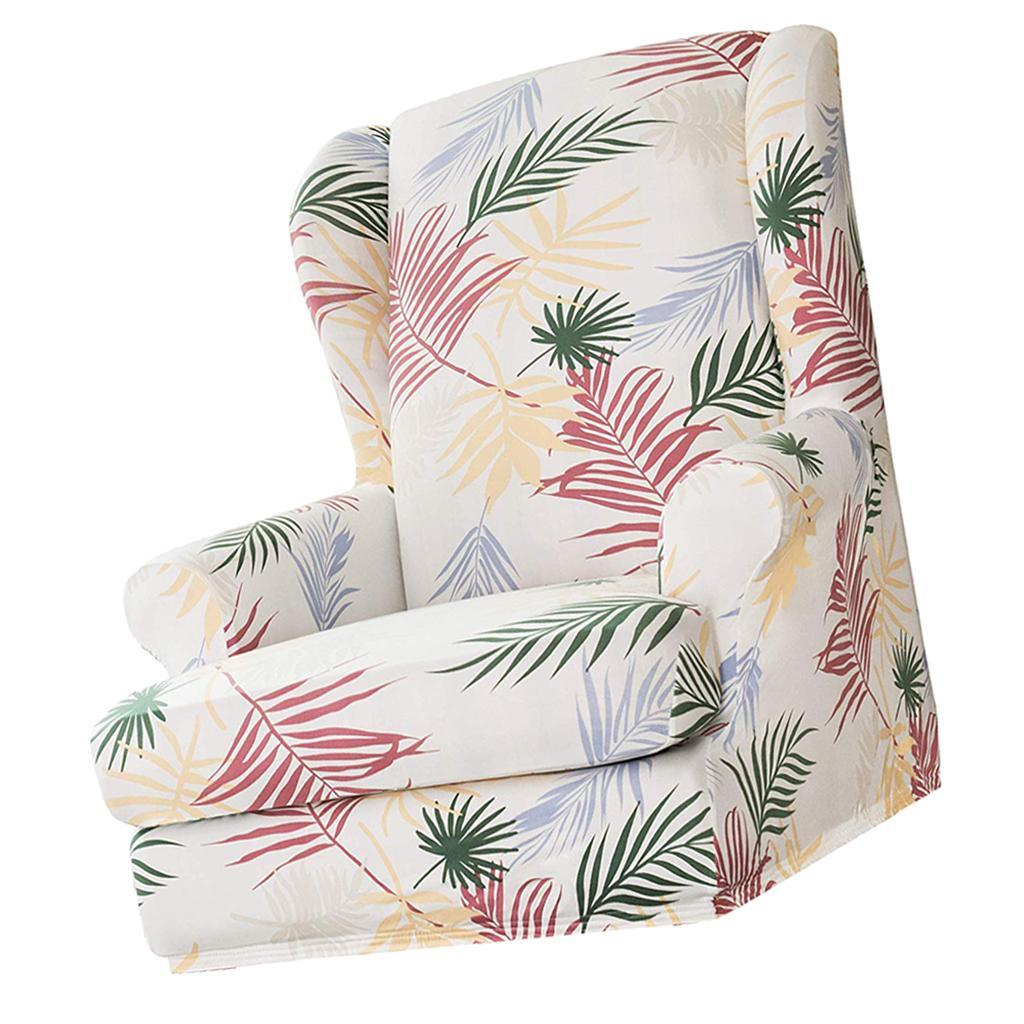 Stretch Armchair Wing Chair Recliner Chair Slipcover Sofa ...