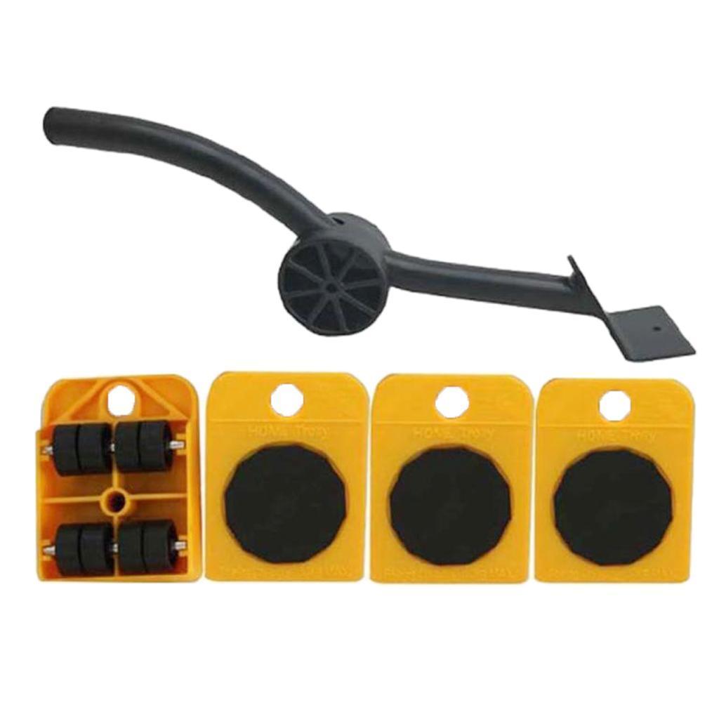 Set-Mobile-Di-Sollevamento-Per-Mobili-1-Asta-Di-Sollevamento-E-4-Rulli-Mobili miniatura 5