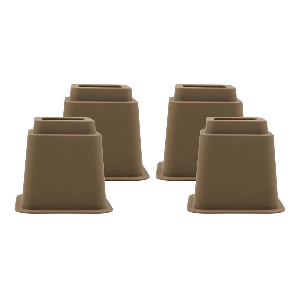 Alzate-per-mobili-Set-da-4-pezzi-Tavolino-regolabile-per-sedia-Alzata-Utopia miniatura 13