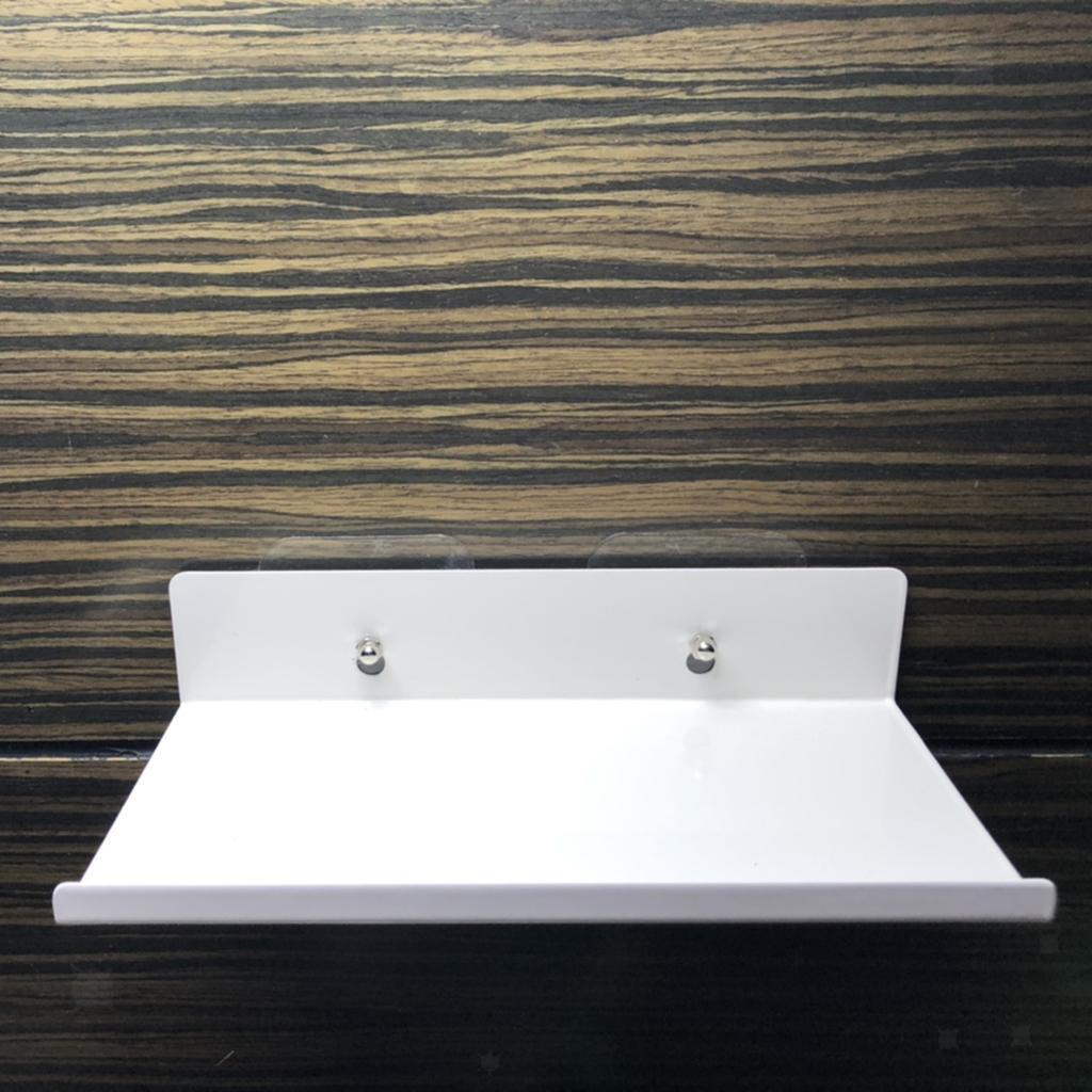 miniatura 45 - In Acciaio al carbonio Mensola Mobile per la Casa Dell'organizzatore