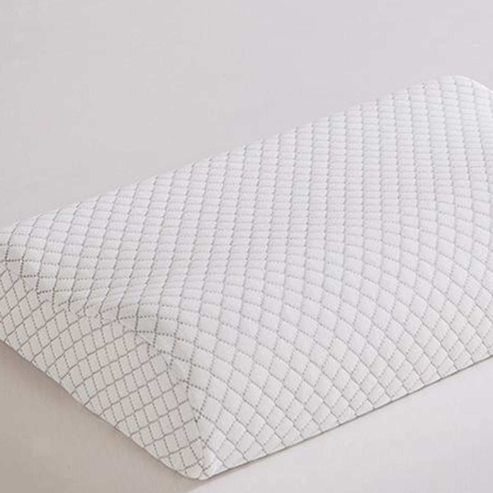 Cuscino-di-lusso-in-memory-foam-Cuscino-cervicale-Cuscino-per-la-testa-Federa miniatura 9