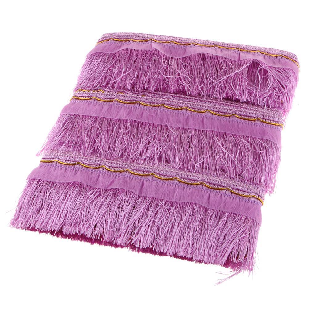 miniatura 12 - 1 rotolo di poliestere bordo nappa tappezzeria treccia trim tessuti per la casa