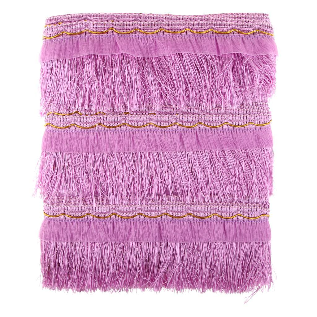miniatura 13 - 1 rotolo di poliestere bordo nappa tappezzeria treccia trim tessuti per la casa