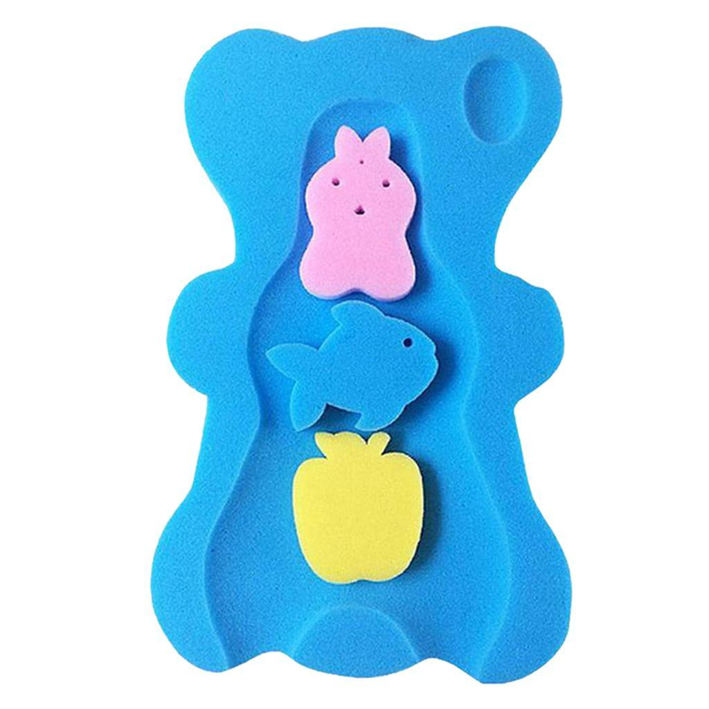 miniatura 10 - Cute Baby Care Spugna da bagno Cuscino da bagno Tappetino da bagno Tappetino da