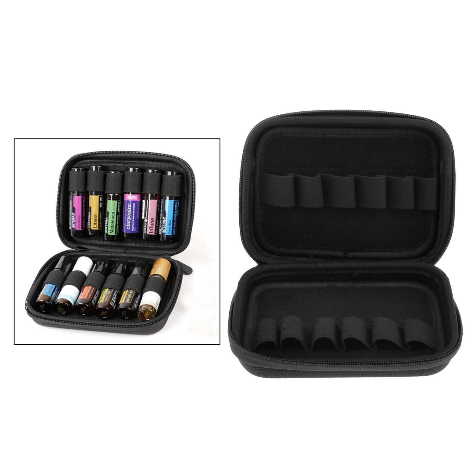 Sacchetto-di-olio-essenziale-custodia-da-viaggio-per-aromaterapia-da-10ml-per-12 miniatura 49