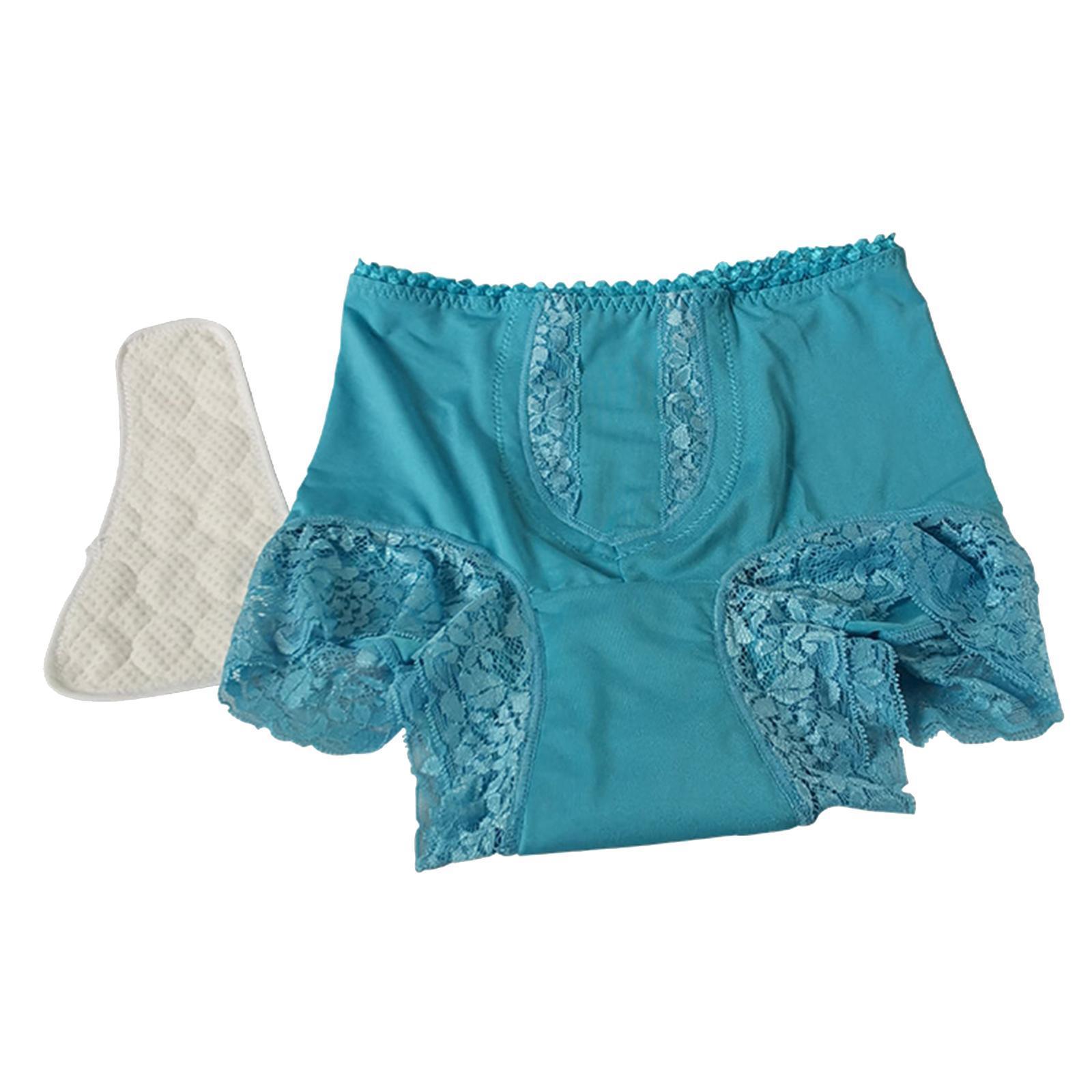 Indexbild 30 - Wiederverwendbare Inkontinenz Unterwäsche mit Pad für Frauen Menstruations