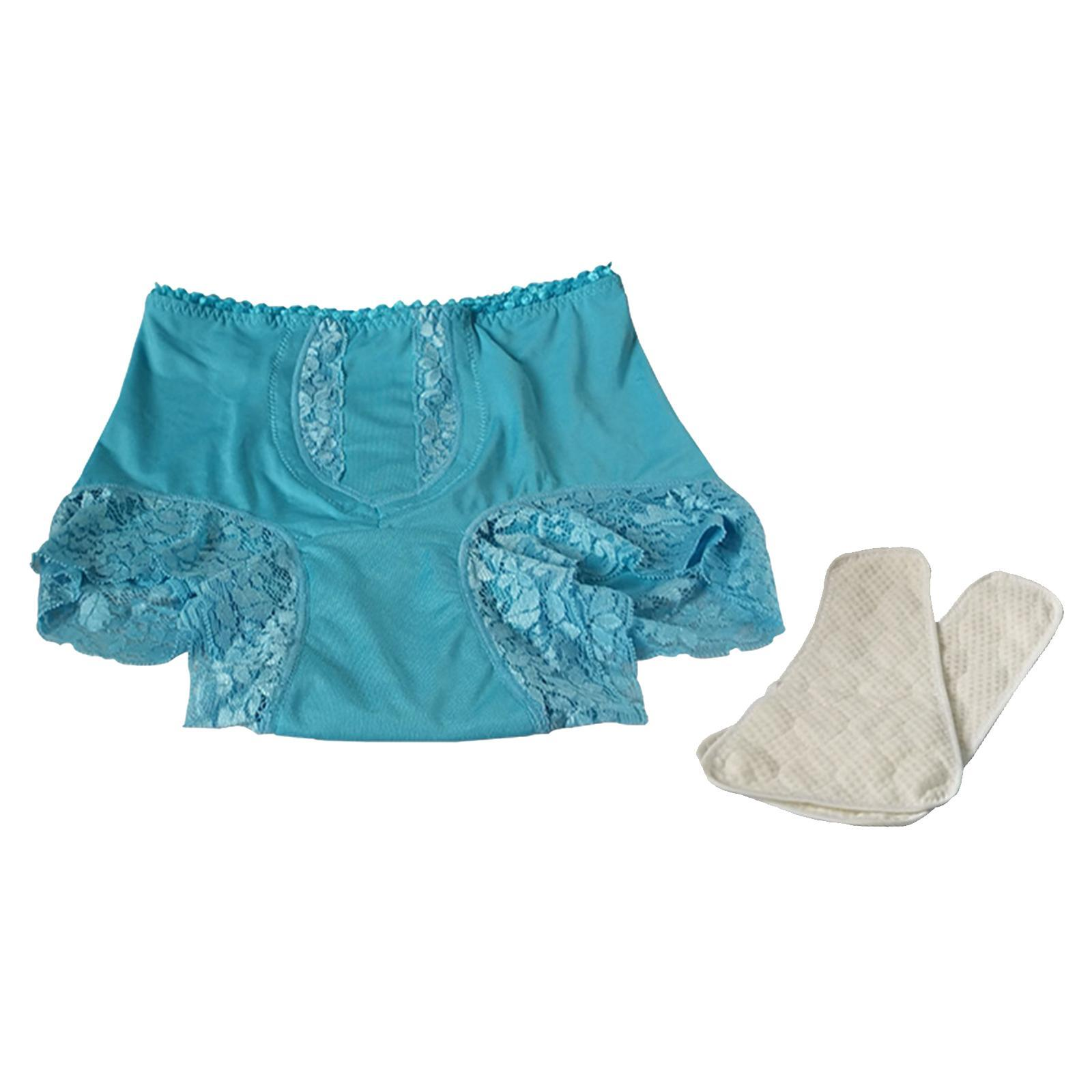 Indexbild 32 - Wiederverwendbare Inkontinenz Unterwäsche mit Pad für Frauen Menstruations