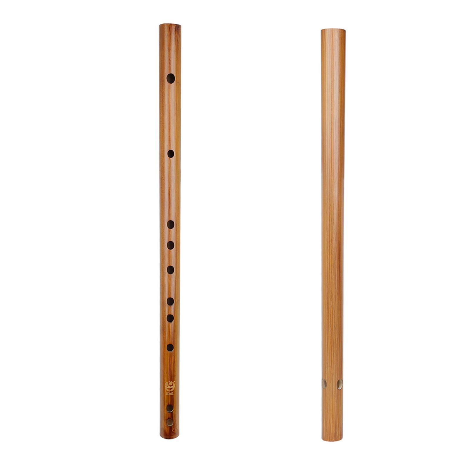 miniatura 47 - Unico-Indiano-di-Legno-Flauto-Strumento-Musicale-Registratore-Bansuri-Regalo
