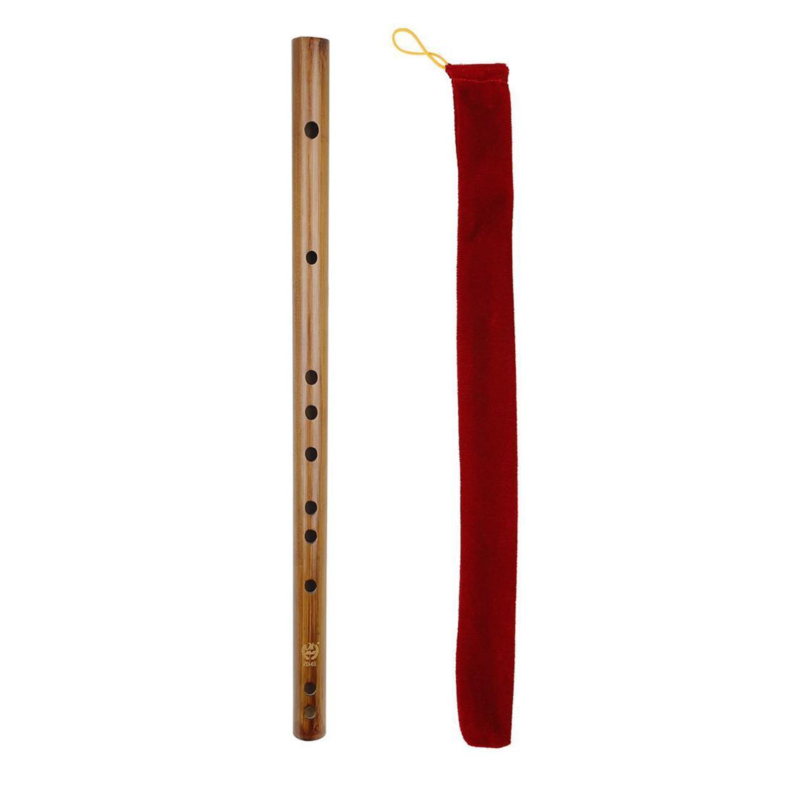 miniatura 43 - Unico-Indiano-di-Legno-Flauto-Strumento-Musicale-Registratore-Bansuri-Regalo