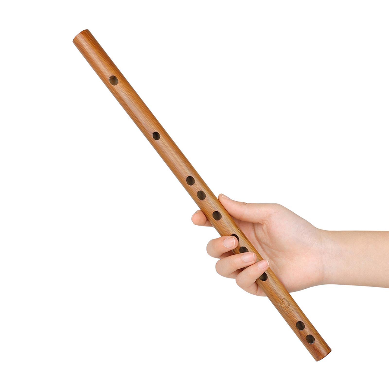 miniatura 44 - Unico-Indiano-di-Legno-Flauto-Strumento-Musicale-Registratore-Bansuri-Regalo