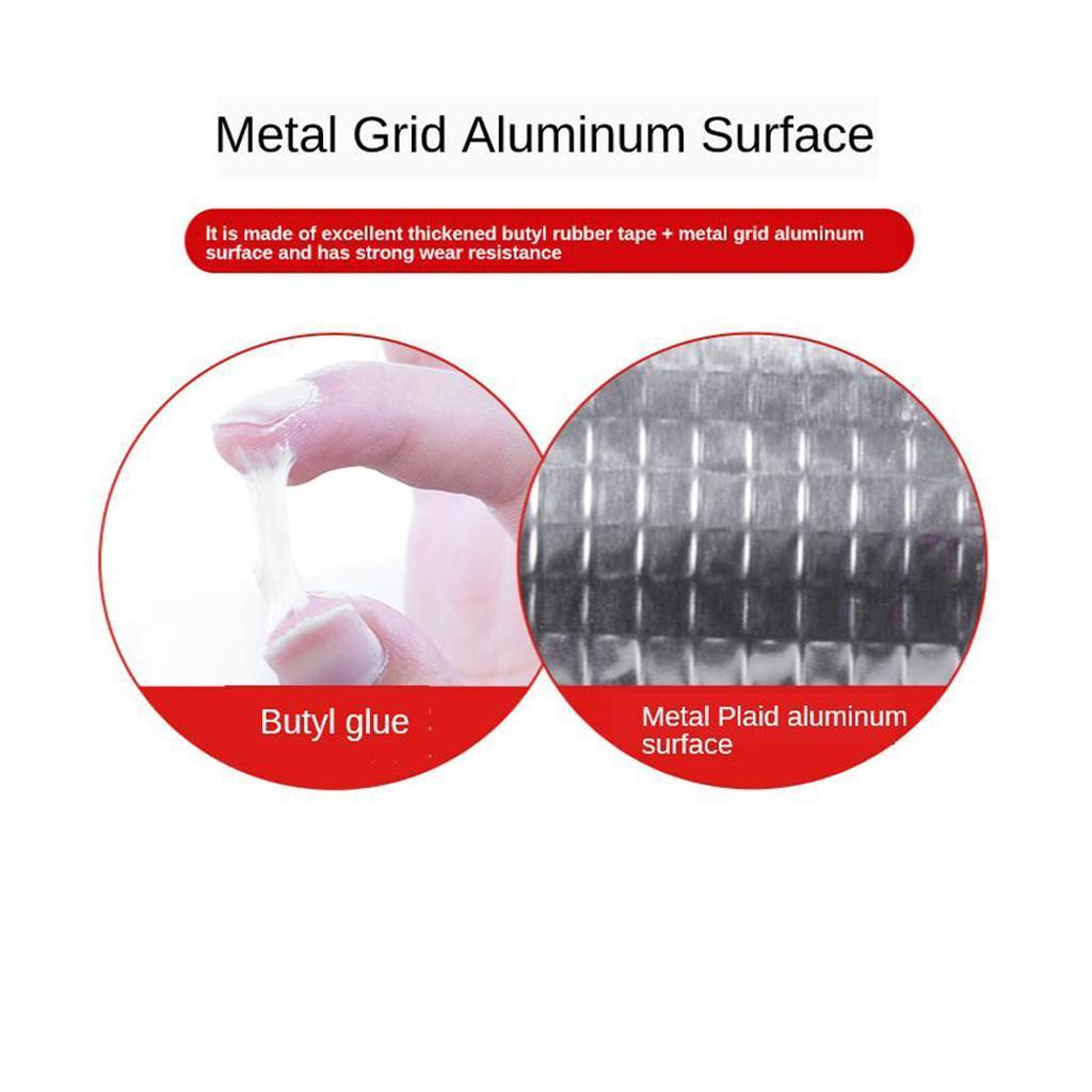 Tenacite-elevee-auto-adhesive-de-bande-de-bande-en-caoutchouc-butyle-de miniature 4