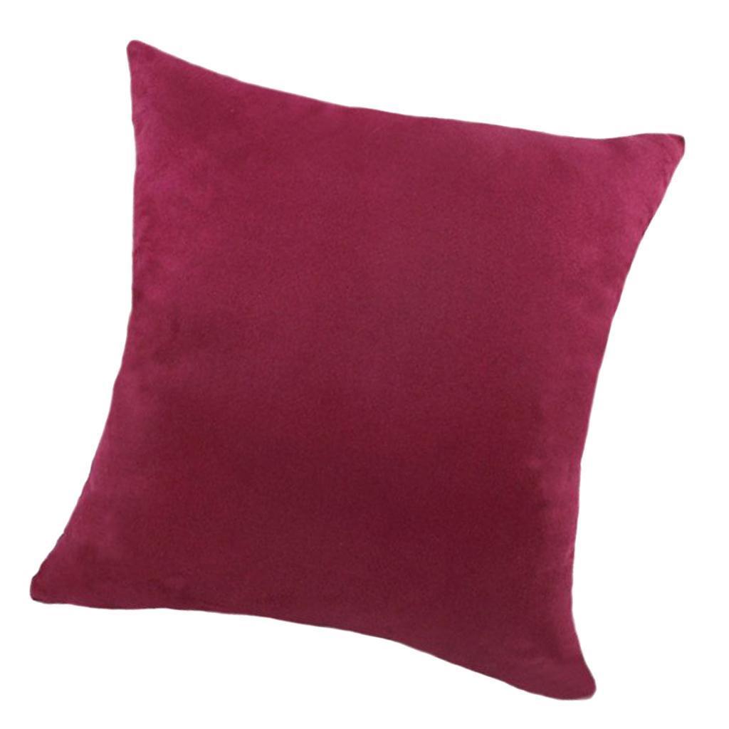 Fodera-per-cuscino-in-velluto-su-entrambi-i-lati-fodera-per-cuscino-18-x-18-039-039 miniatura 31
