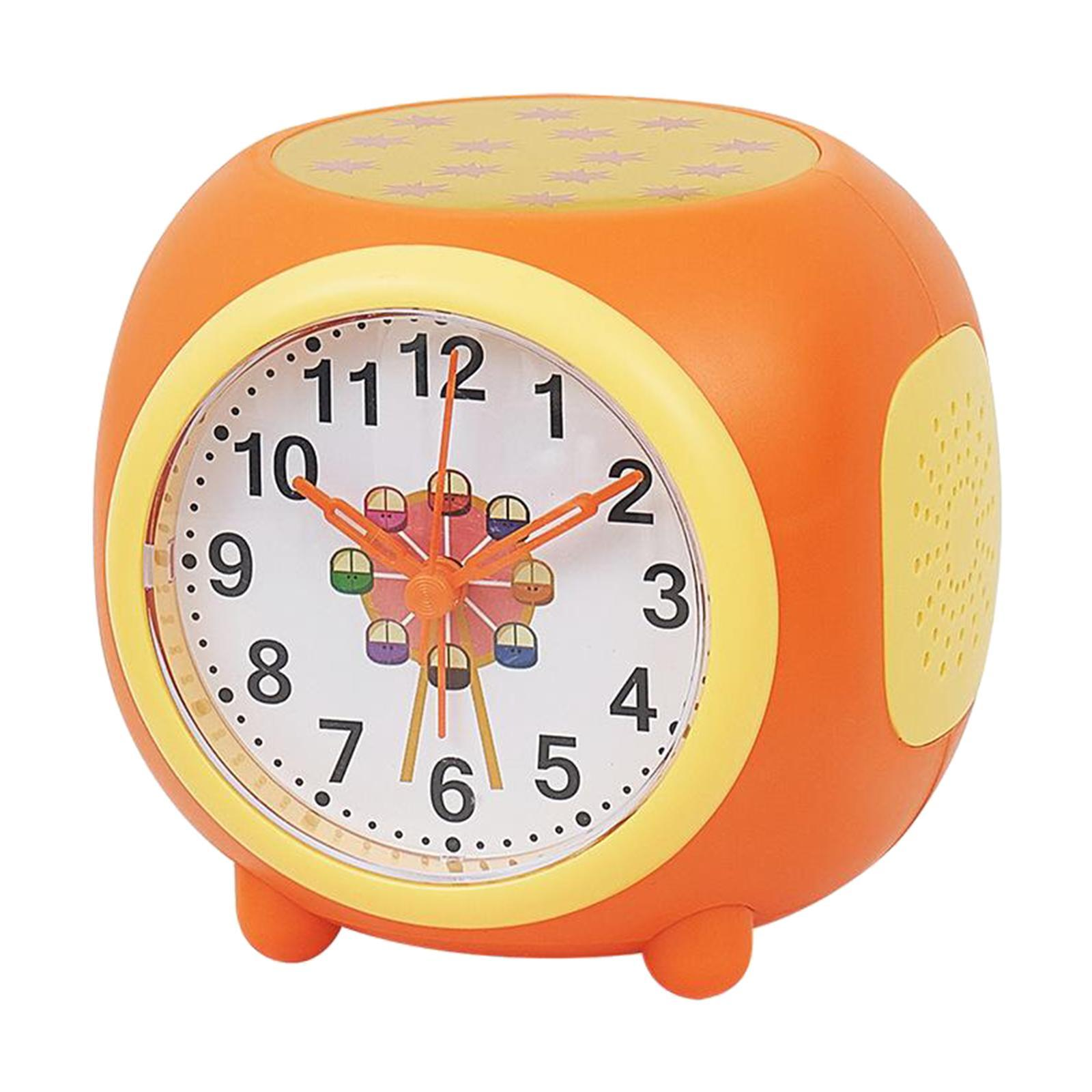 Controllo-vocale-Star-Projection-Lamp-Sveglia-Snooze-Clock-Orologio-da-camera-da miniatura 9