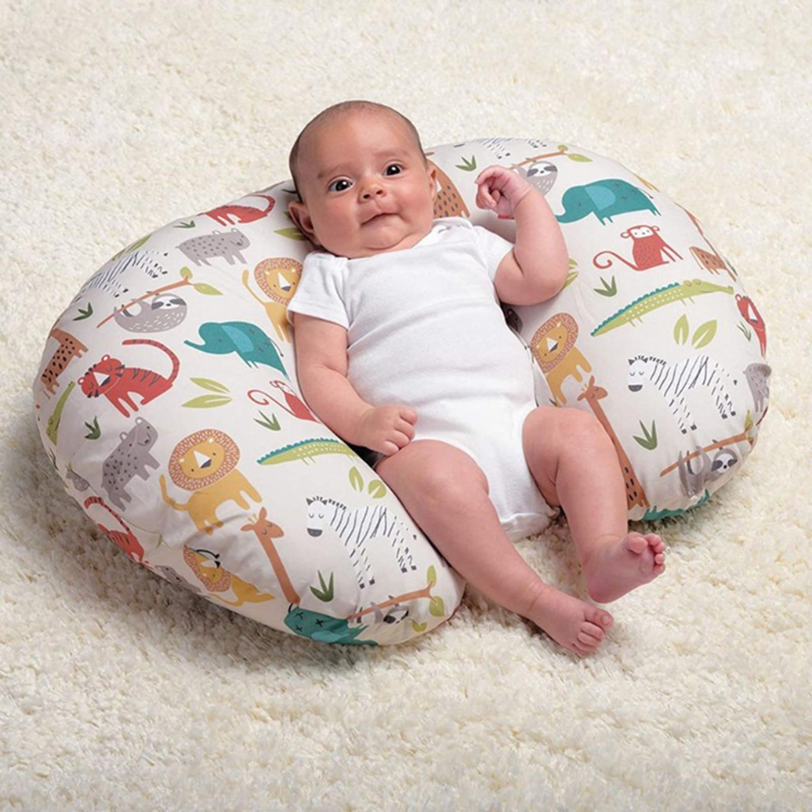miniatura 15 - A Forma di U Del Bambino Cuscino Allattamento Cuscini di Cura per il Neonato