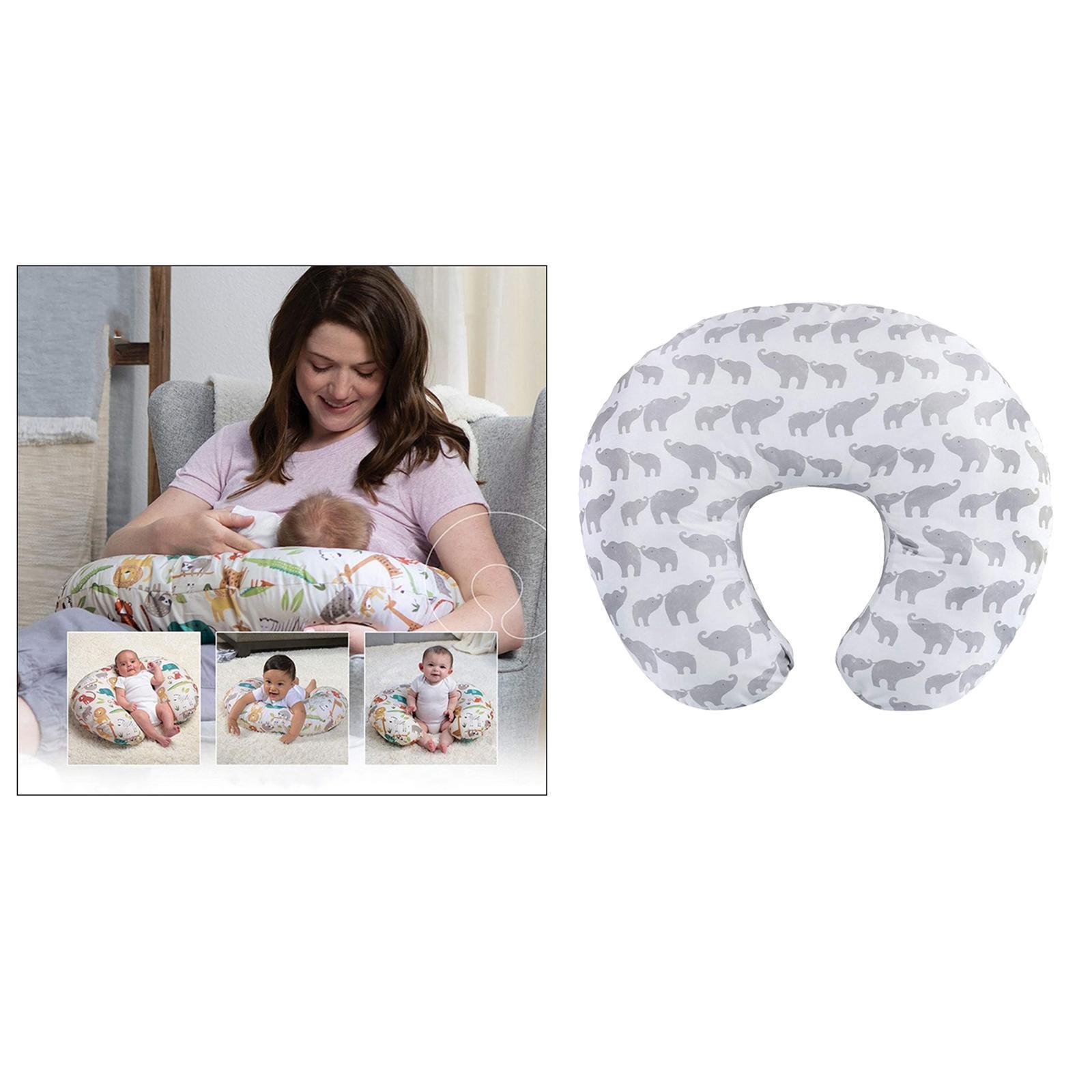 miniatura 14 - A Forma di U Del Bambino Cuscino Allattamento Cuscini di Cura per il Neonato