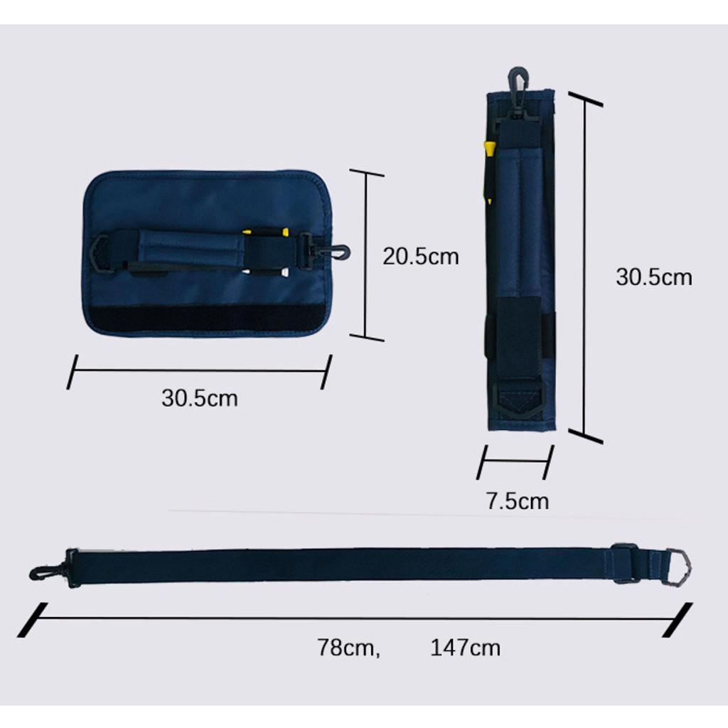 Portable-Mini-Golf-Club-Carrier-3-4-Club-Carry-Bag-Holder-Pack-for-Driving-Range thumbnail 40