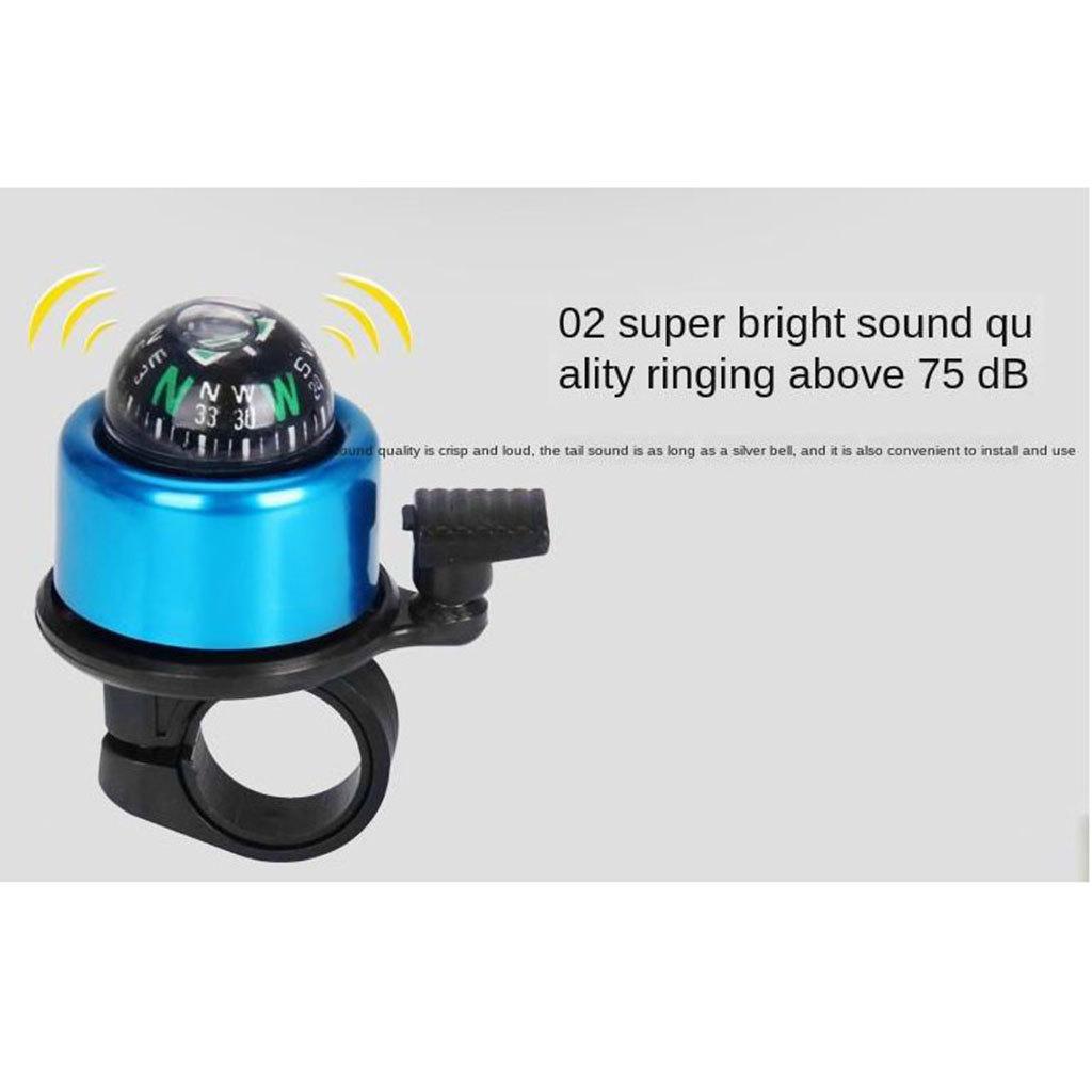 Bike Handlebar Bell 90db Horn Cycling Ring Mountain Bike Invisible Q Bell Alarm