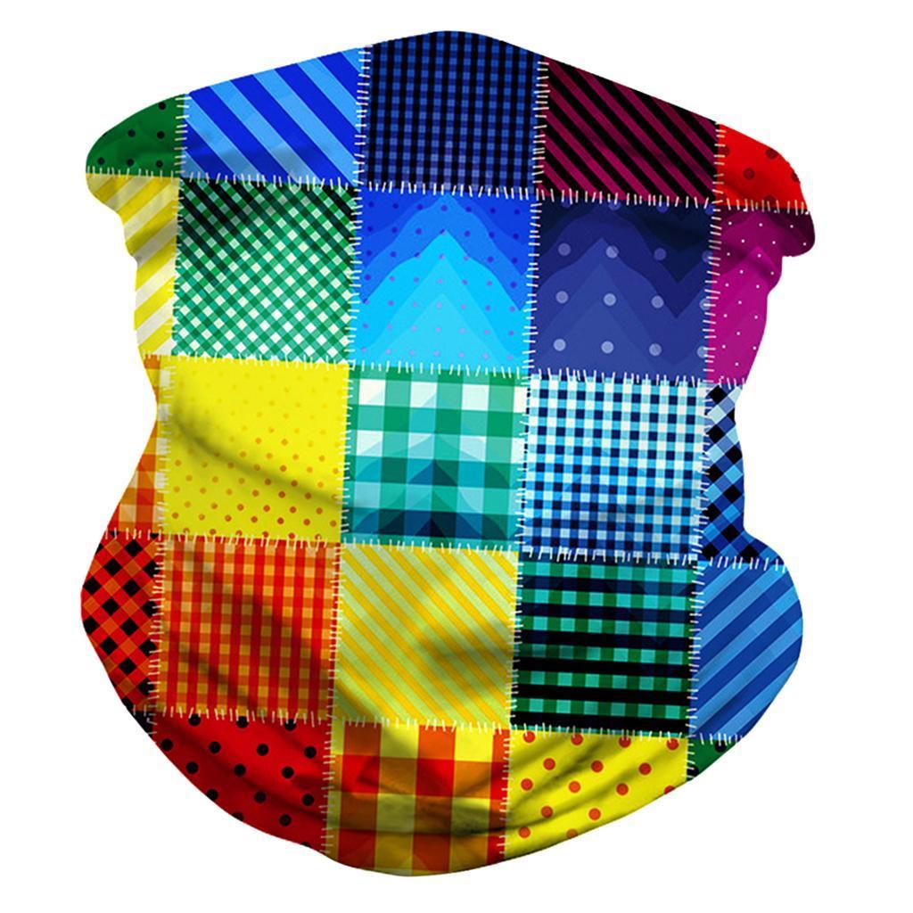 Details about  /Women Mens Soft Bandana Face Balaclava Neck Sun Gaiter Scarf Sports Headwear