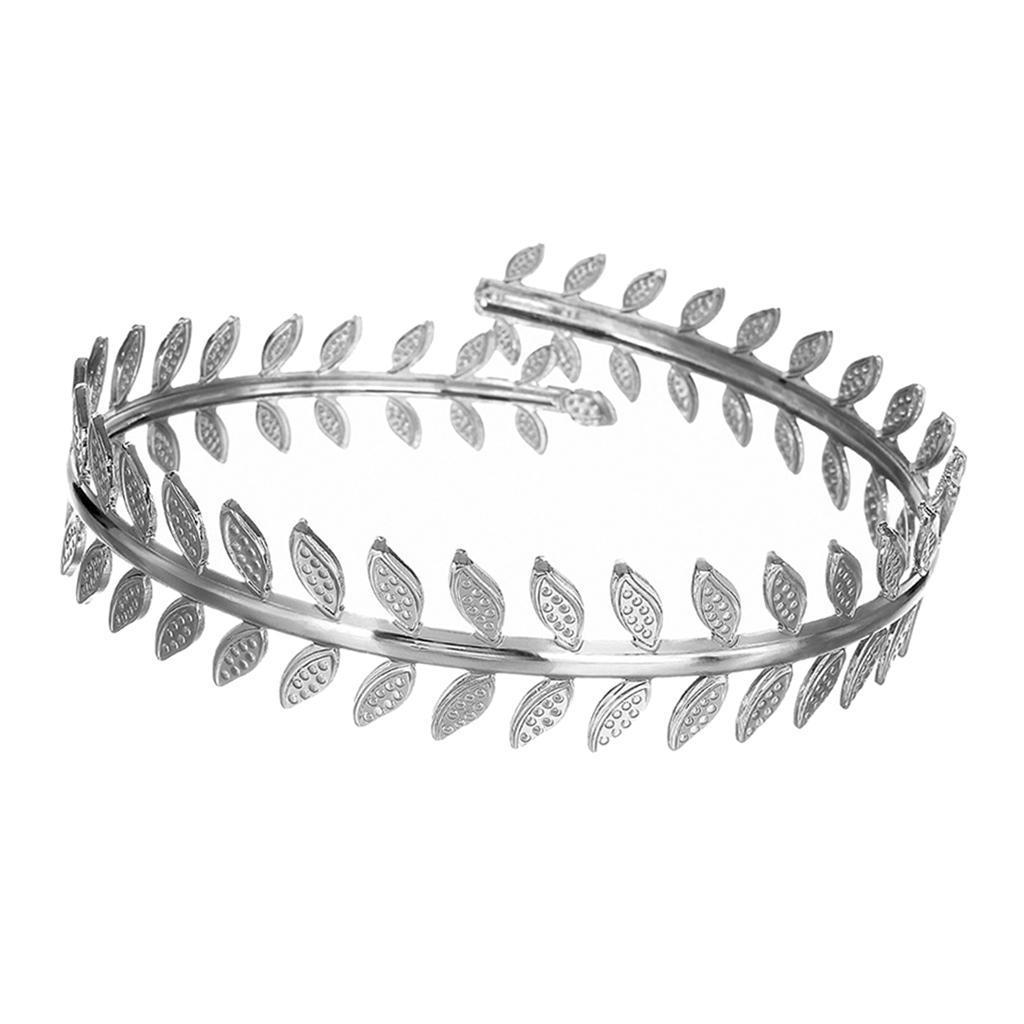 Indexbild 6 - Wirbelblatt Oberarm Ring Mädchen verstellbare Armband Armreif Manschette