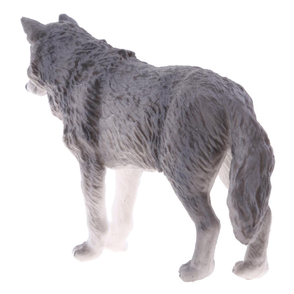 Realistico-Selvaggio-Farm-Natura-Animale-Albero-Modello-Azione-Figure-Kid miniatura 39
