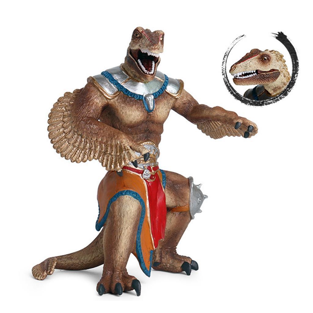 1x-Nanosaur-Model-Figure-Toys-Dinosaur-Soldier-Plastic-Children-Toy-Decor thumbnail 7