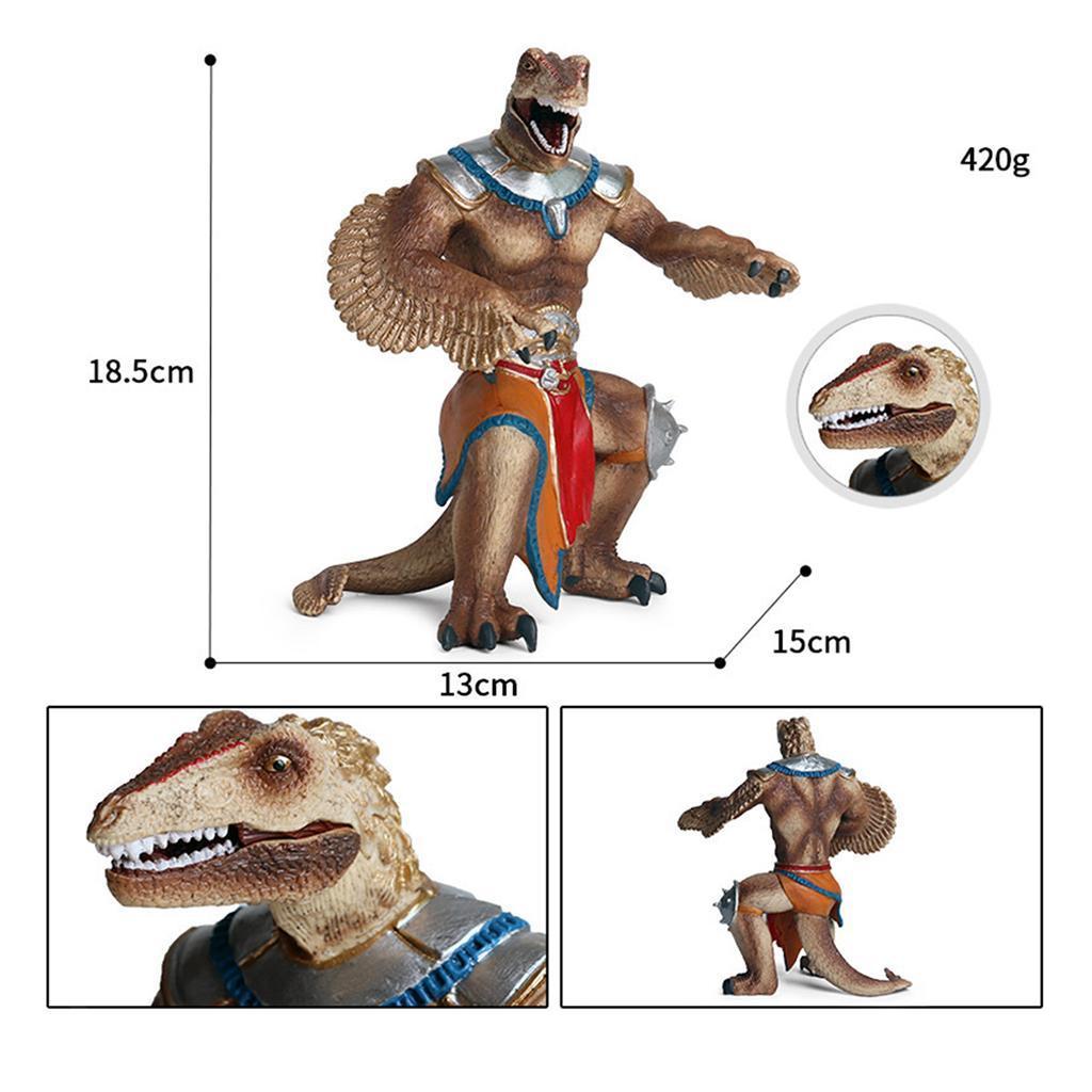 1x-Nanosaur-Model-Figure-Toys-Dinosaur-Soldier-Plastic-Children-Toy-Decor thumbnail 9