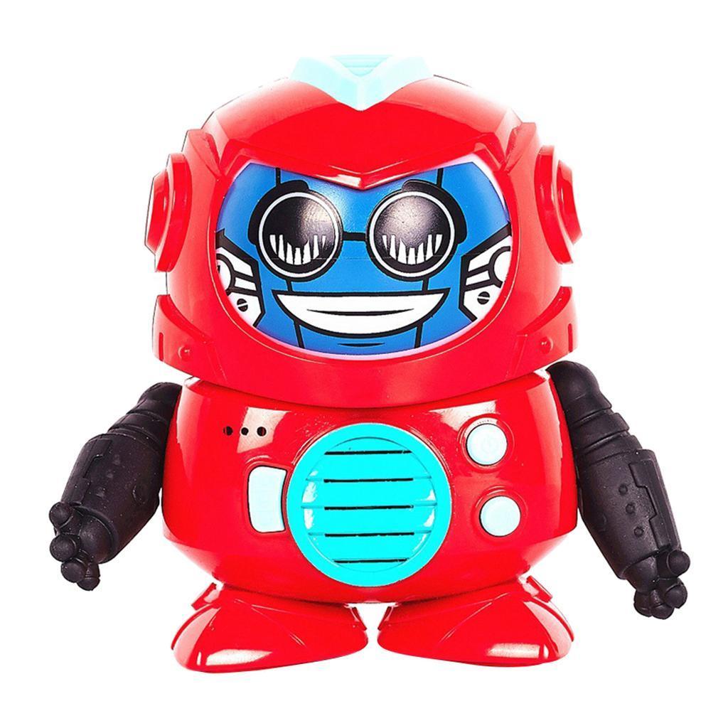 Mini-enregistrement-voix-changeur-robot-interactif-jouet-enfants-developpement miniature 3